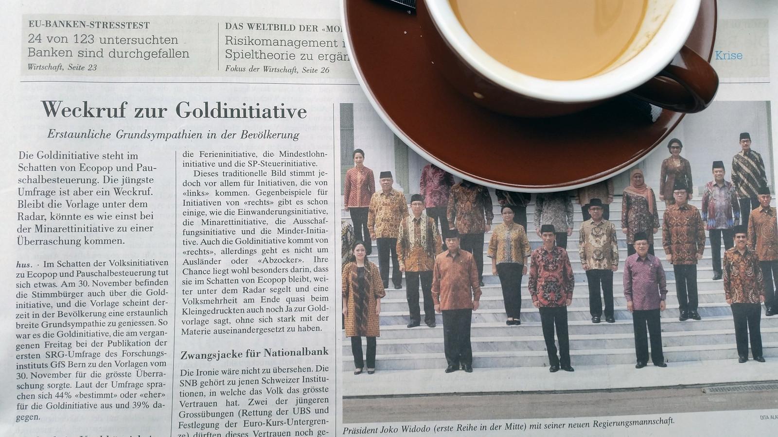 Goldinitiative Schweiz