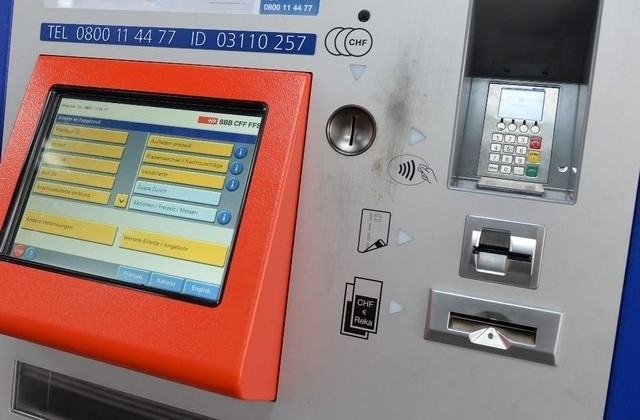 SBB Bitcoin - Billetautomat