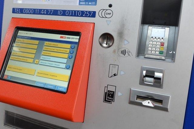 SBB Bitcoin - Billetautomat
