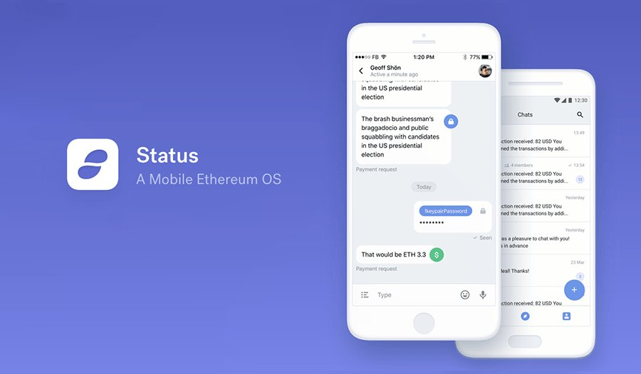 Stauts Ethereum Wallet and Client for DApps