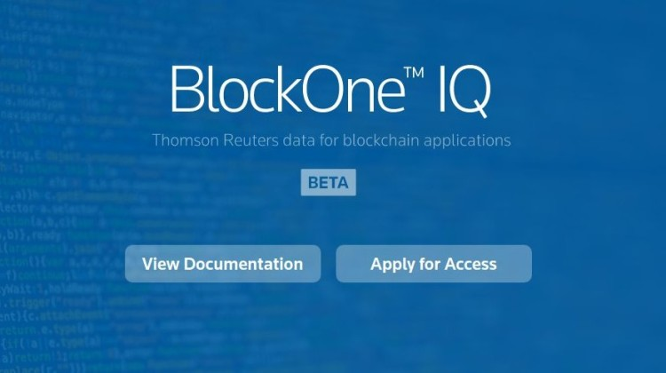 BlockOneIQ Reuters