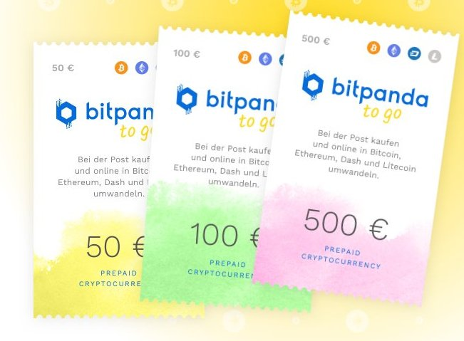 Bitcoin Österreich: Bitpanda to go