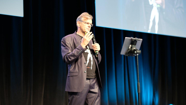 Krypto-Ikone und Autor Aaron Koenig