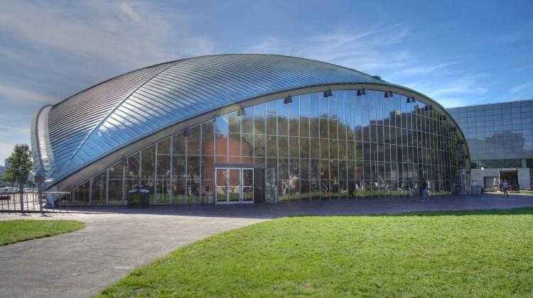MIT Eero Saarinen's Kresge Auditorium