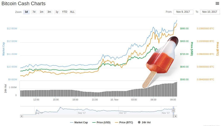 Bitcoin Cash Rakete