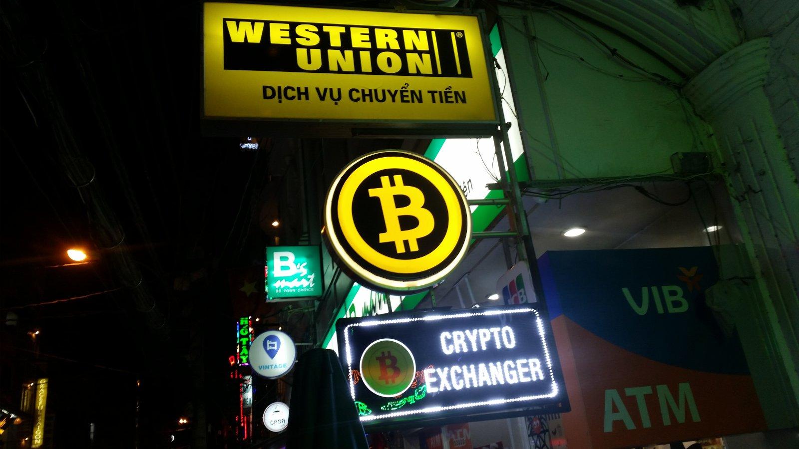 Western Union und Bitcoin