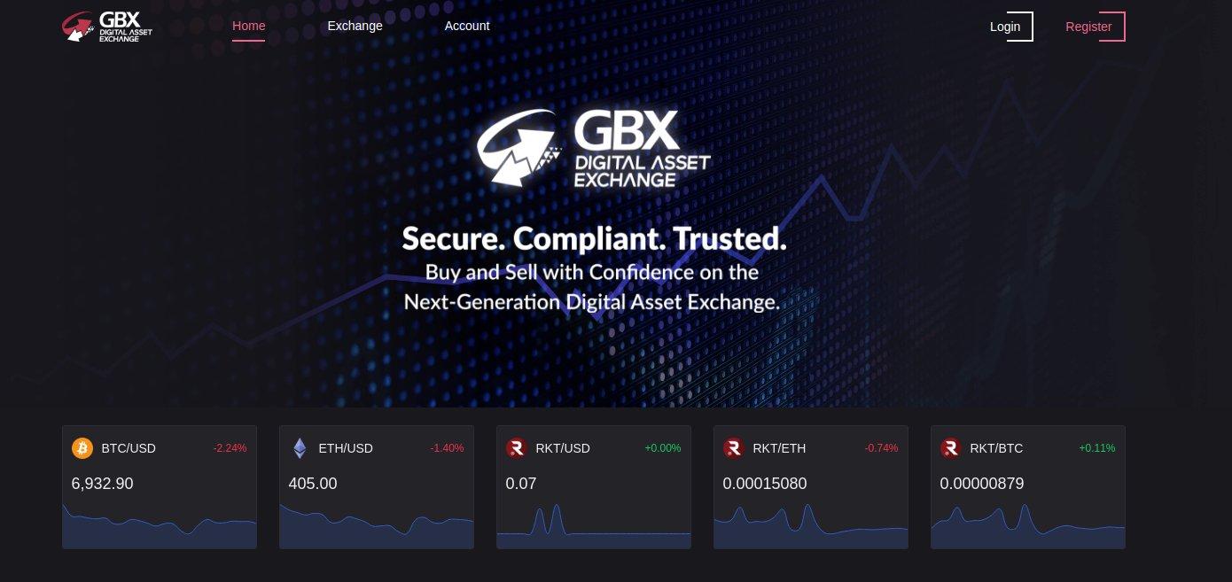GBX Digital Asset Exchange