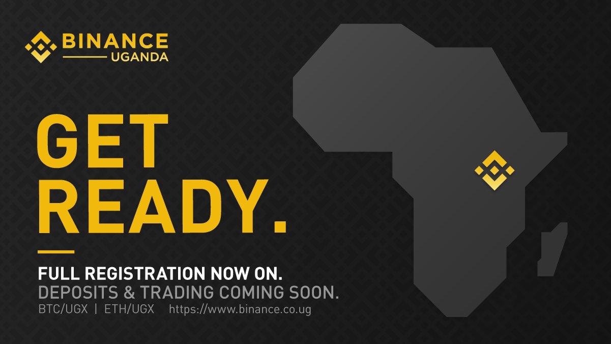 Binance Africa Uganda