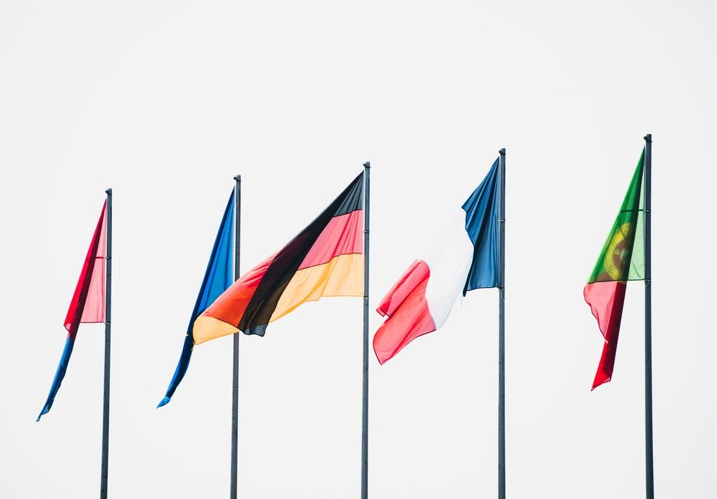 Europäische Union (Flaggen einiger Länder)