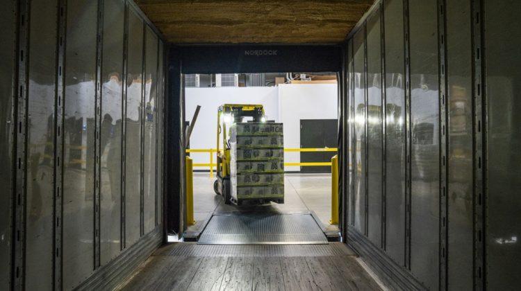 logistik und Blockchain