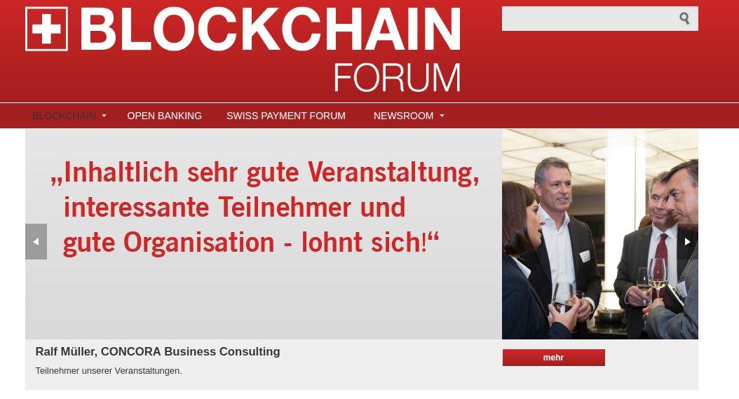 Blockchain Forum Schweiz