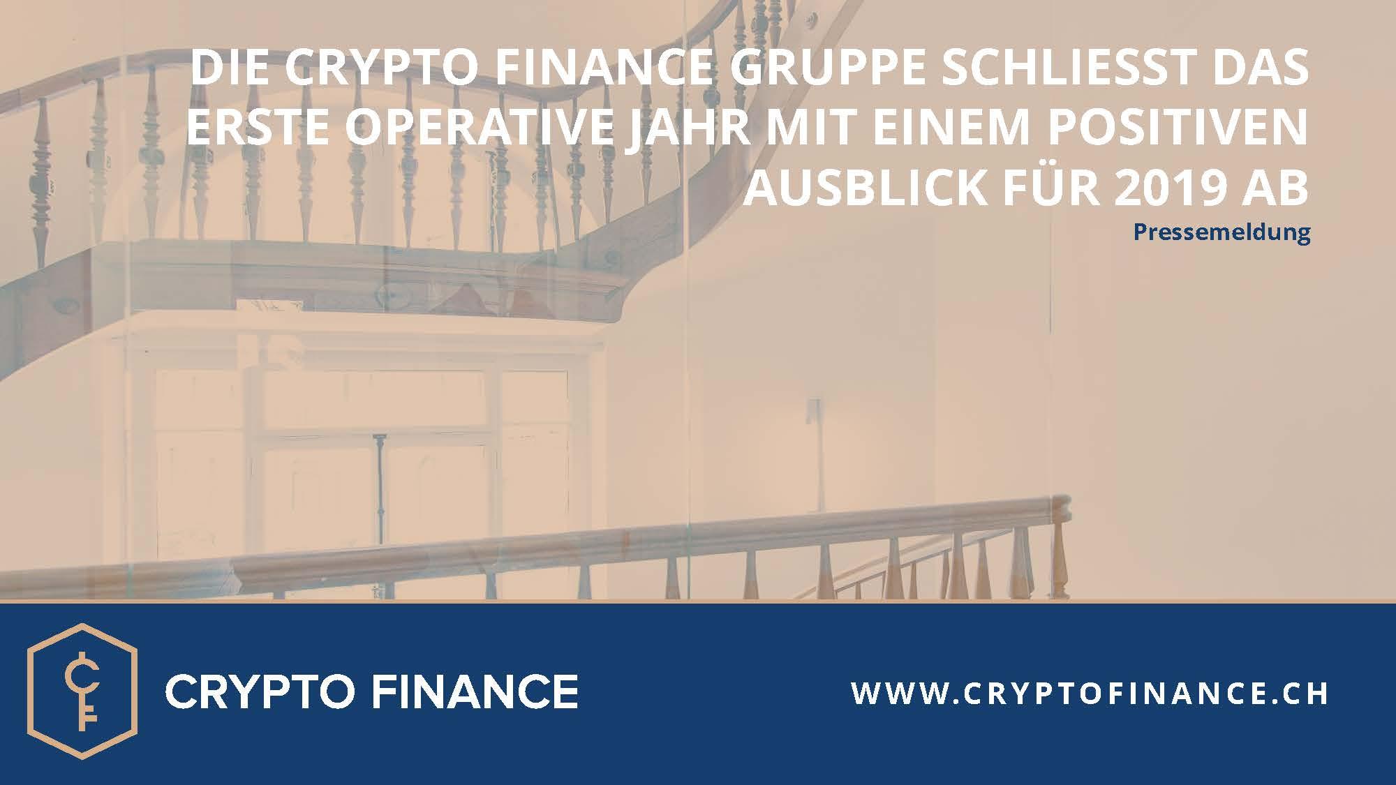 Crypto Finance Gruppe