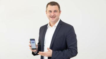 Dr. Christian Pirkner, CEO Blue Code International AG © Blue Code International AG / Tanzer
