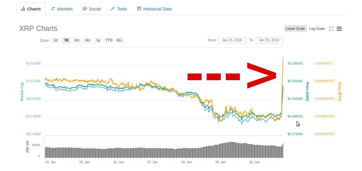 XRP Ripple Chart