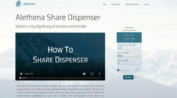 Alethena Share Dispenser