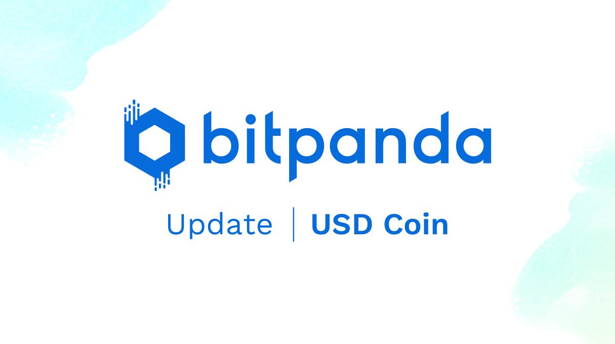 USD Coin (USDC) als zweiter Stablecoin nach Tether (USDT) auf Bitpanda verfügbar