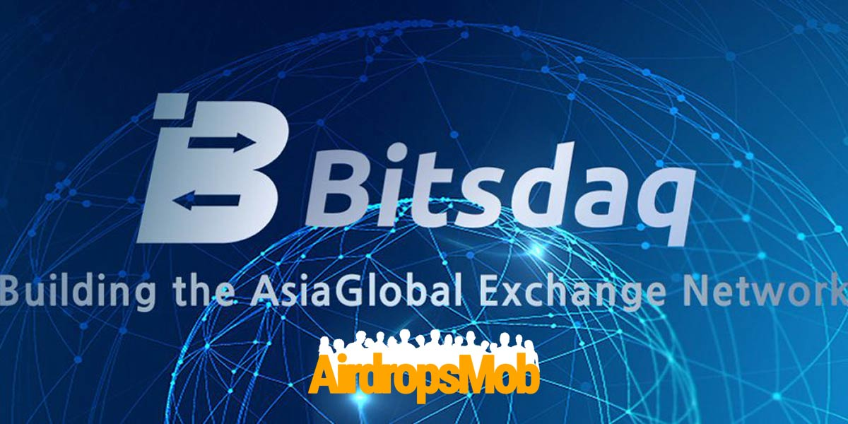 Bitsdaq Airdrop: Geschenk für alle, die sich registrieren!