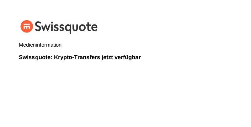 Swissquote Gebühren
