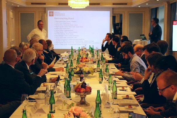 SBF: Gründungsversammlung der Swiss Blockchain Federation am 30. Oktober 2018.