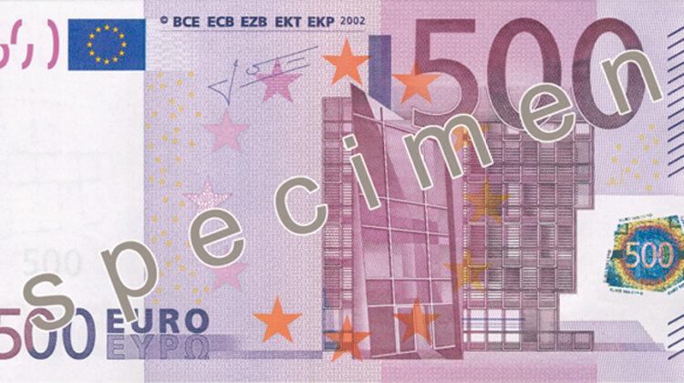 Bargeld: EZB schafft den Fünfhunderter ab
