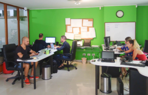 Staatenlos-Team in Medellin, Kolumbien