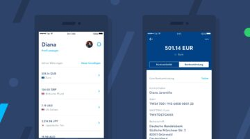 TransferWise Smartphone