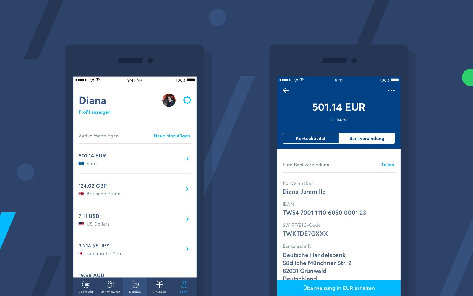 TransferWise Smartphone