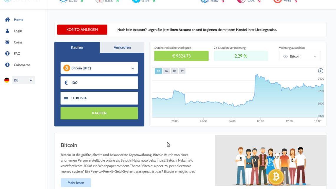Coinmerce Screenshot