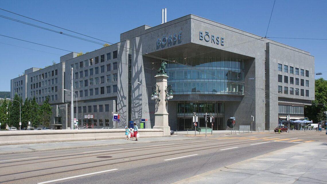 Gebäude der «Neuen Börse» Zürich