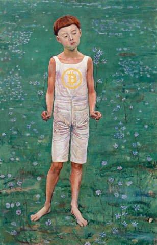 Bitcoin Junge Ferdinand Hodler