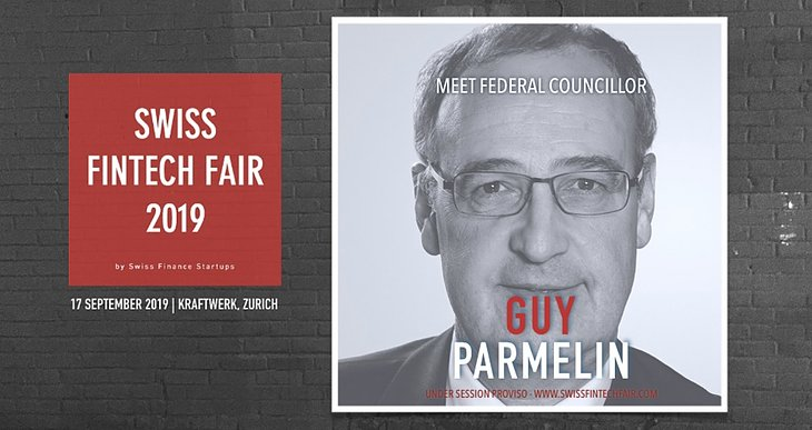 Federal Councillor Guy Parmelin expected to visit Swiss Fintech Fair 2019