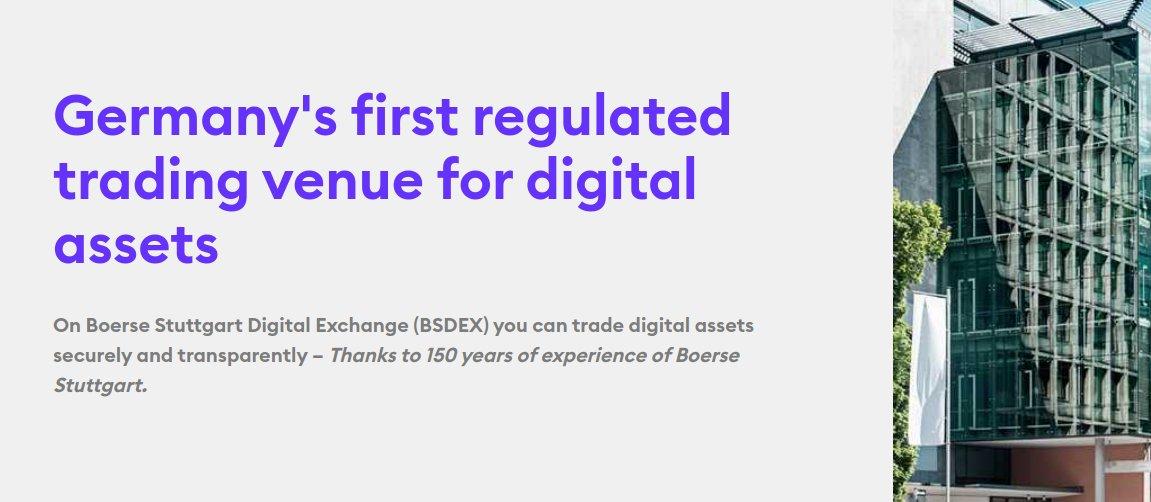 Börse Stuttgart eröffnet Token-Handelsplatz BSDEX