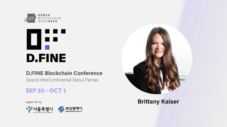 "Brittany Kaiser, Former Employee from UK's Cambridge Analytica (CA) to Visit Korea this Month ""Utilizing Big Data from Personal On and Offline Areas As Digital Assets"""