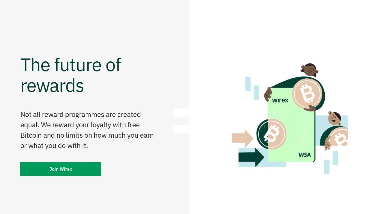 Bitcoin Bankkarte von Wirex