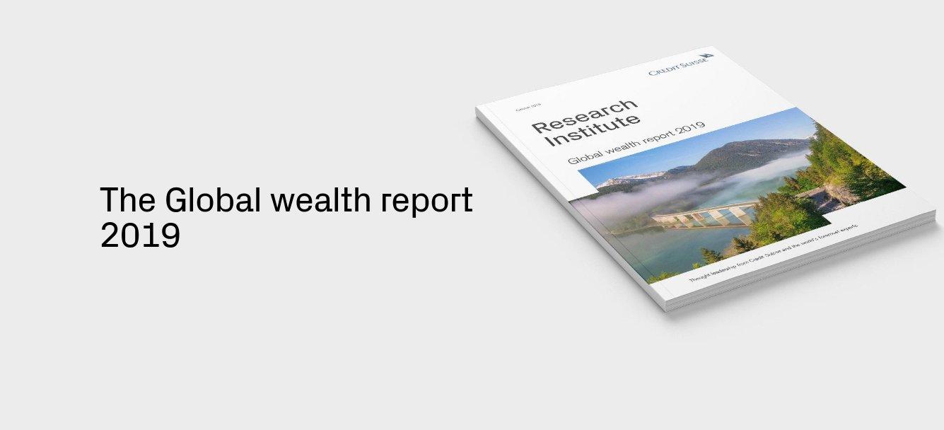 Credit Suisse: Niemand häuft Vermögen an wie die Schweizer