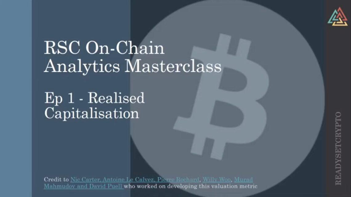 New Podcast: Bitcoin On Chain Analytics