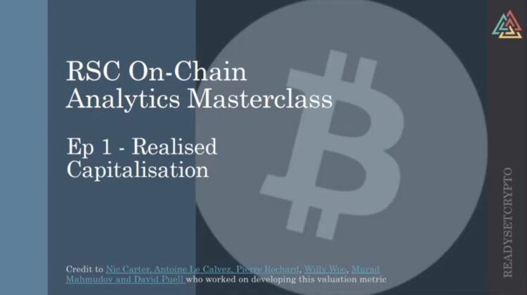 New Podcast: Bitcoin On Chain Analytics