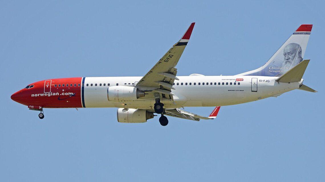 Boeing 737-800 der Norwegian Air International