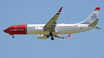 Boeing 737-800 der Norwegian Air International