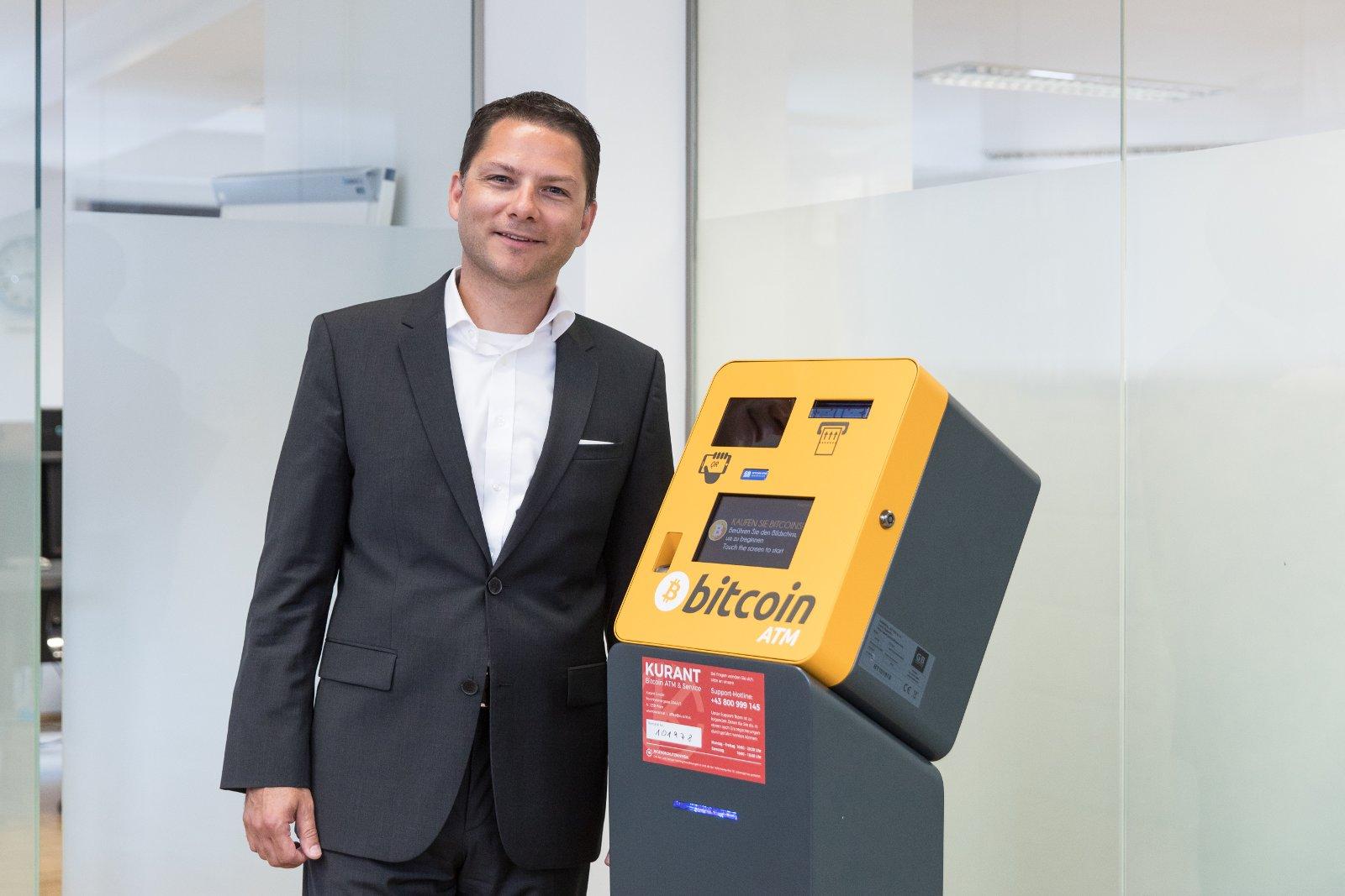 Kurant Geschäftsführer Dr.Stefan Grill