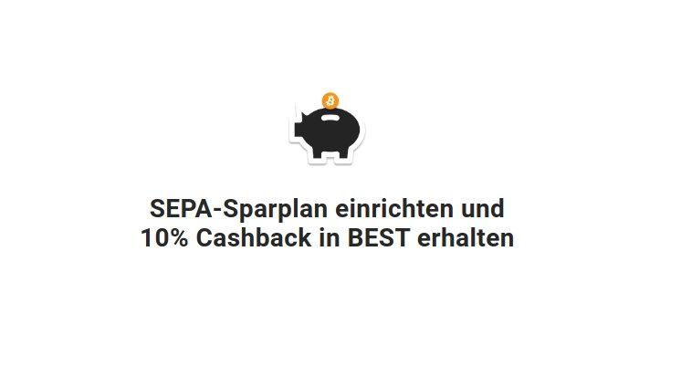 Jetzt neu: Sparpläne mit SEPA-Lastschrift