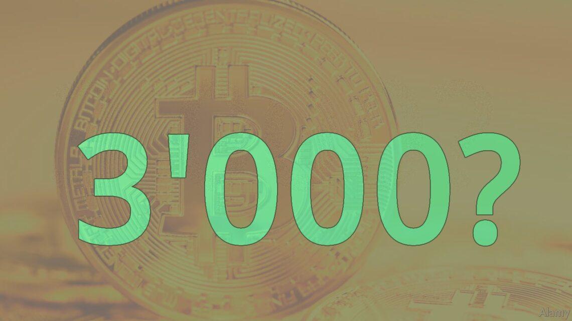 Bitcoin-Prognose: Bitcoin kann kurzfristig auf 3'000 crashen