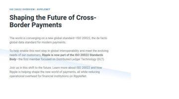 Ripple ISO 20022