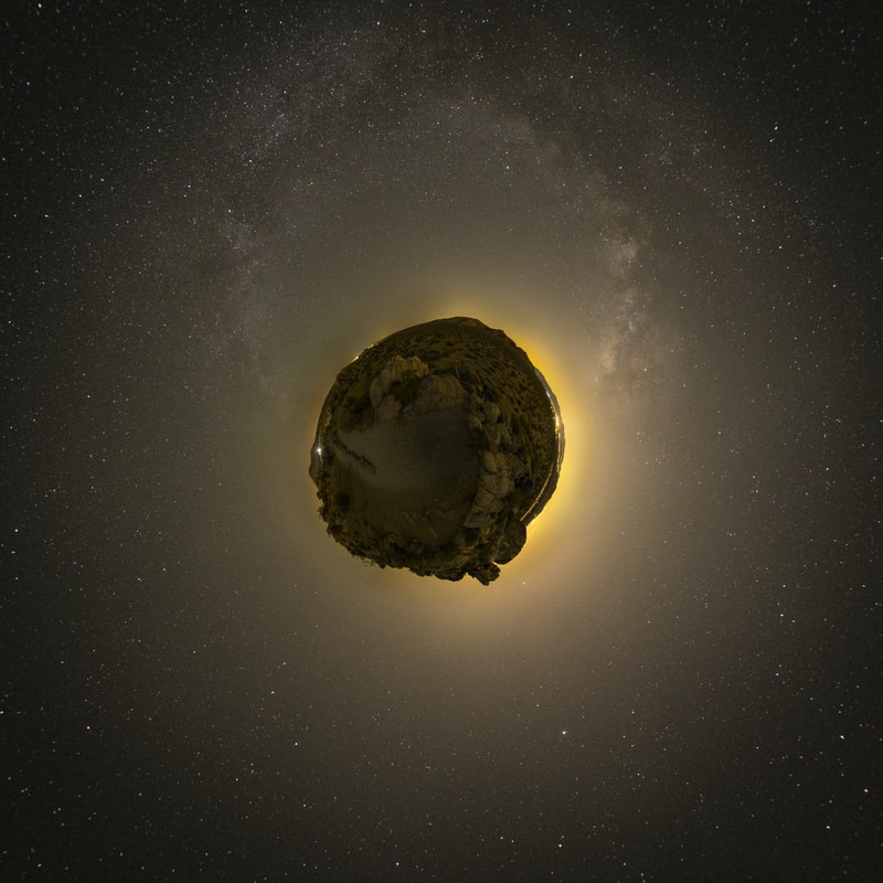 Asteroid mining is the exploitation of raw materials from asteroids and other minor planets, including near-Earth objects.