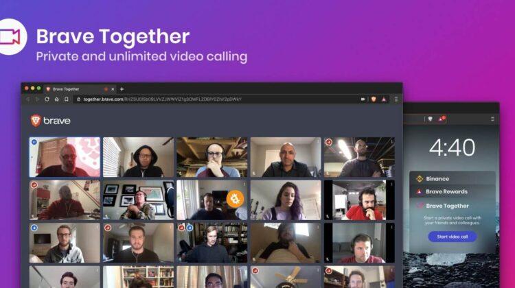 Seit letzter Woche kann man mithilfe des Brave Browsers Videoanrufe tätigen
