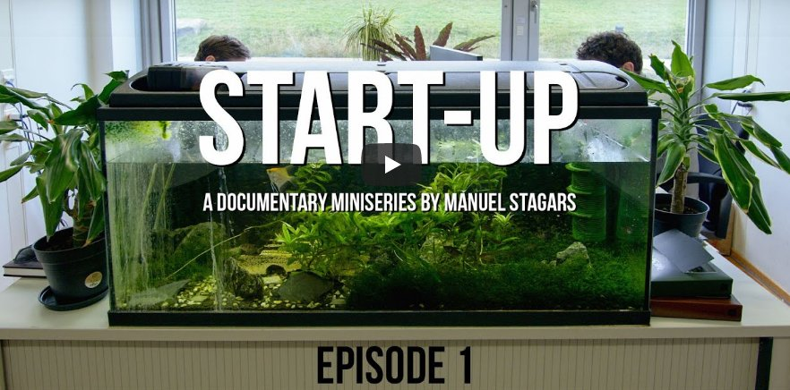 """Start-up"", a documentary miniseries by Manuel Stagars"