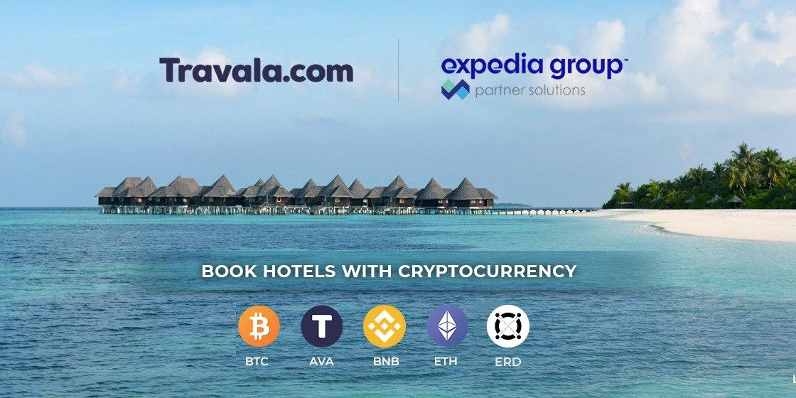 Expedia and Travala.com Join Forces to Offer Frictionless Cryptocurrency Travel Booking