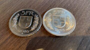 Darum hat der Fünfliber rechts hat 12 Franken wert!
