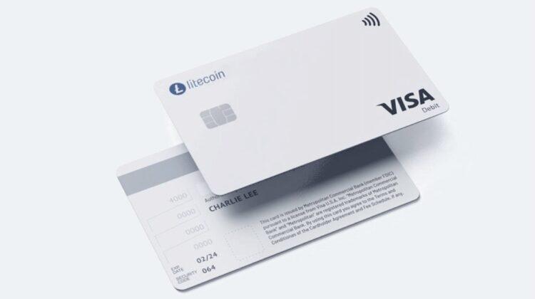 Erste auf Litecoin spezialisierte Visa-Debitkarte kommt