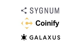 Coinify and Galaxus enable world's first e-commerce payment using Sygnum Bank DCHF stablecoin